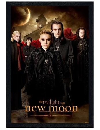 Black Wooden Framed The Volturi - Twilight; New Moon