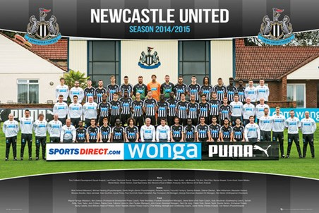Team Photo - Newcastle United Football Club 2014/15