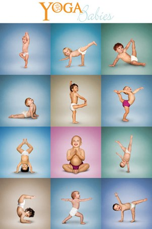 Yoga Babies Collage - And Stretch