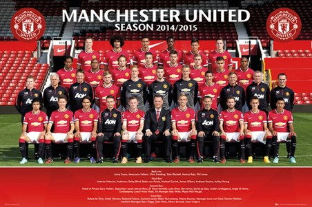 Team Photo - Manchester United 2014/15