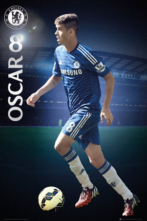 Oscar Chelsea Football Club Poster Buy Online