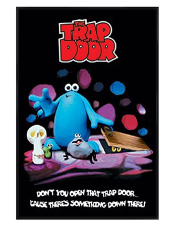 Gloss Black Framed Don't You Open That Trap Door - Trap Door