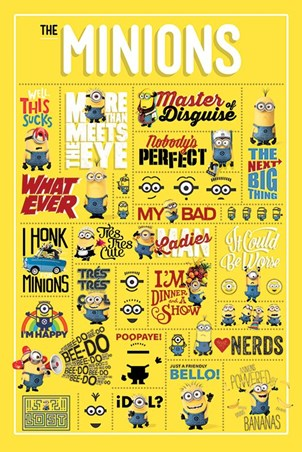 Minions Infographic - Despicable Me