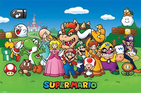 Super Mario Collage, Mushroom Kingdom