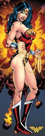 Framed Wonder Woman - DC Comics