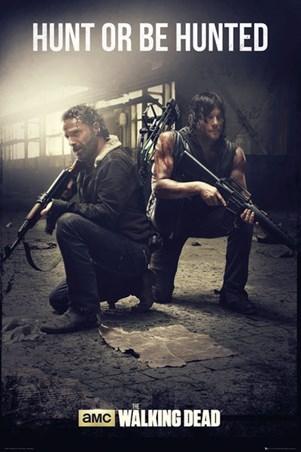 Framed Hunt Or Be Hunted - The Walking Dead