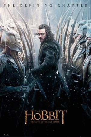 Battle Of Five Armies Bard - The Hobbit The Defining Chapter