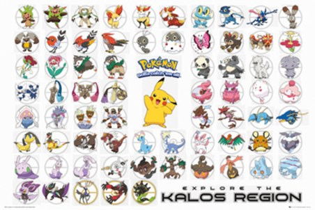 Pokemon Kalos Region - Gotta Catch Them All