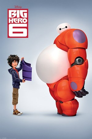 Hiro & Baymax - Big Hero 6