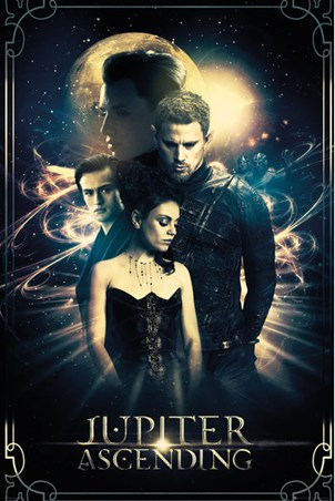 Jupiter Ascending - Mila Kunis and Channing Tatum