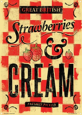 Great British Strawberries & Cream - Freshly Picked