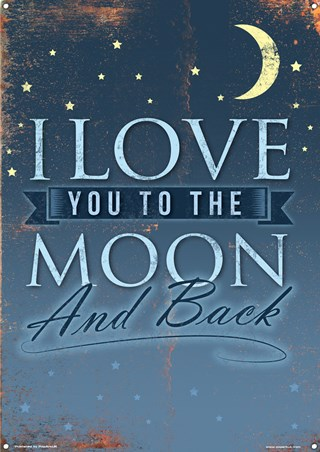 I Love You To The Moon And Back - How Much Do You Love Me?