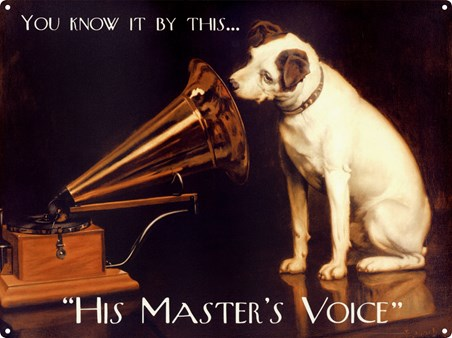 Nipper - His Master's Voice