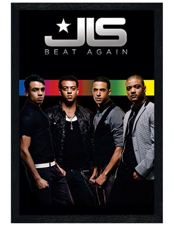 Black Wooden Framed Beat Again - JLS