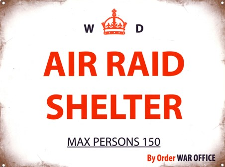 Air Raid Shelter - War Office