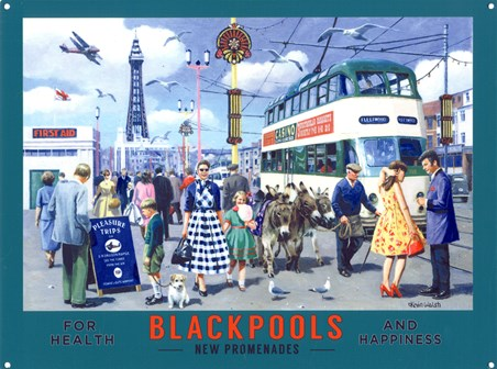 Blackpool's New Promenades, Kevin Walsh