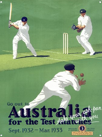 Australia - Test Match Cricket, Take Your Ash Pan With You