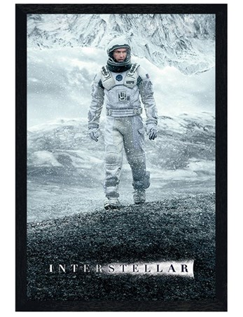 Black Wooden Framed It Will Not Be The End Of Us - Interstellar