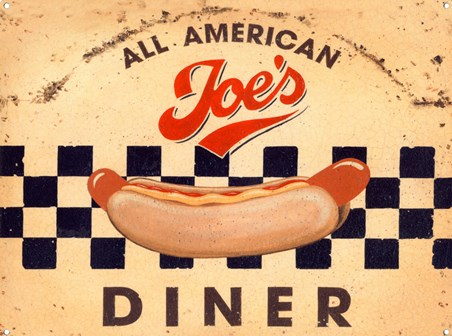 Joe's All American Diner, Hot Dog