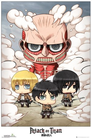 Chibi Group - Attack On Titan