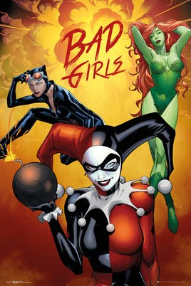 Bad Girls Montage - DC Comics