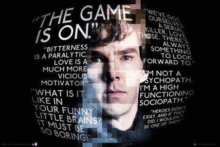 The Game Is On - Sherlock