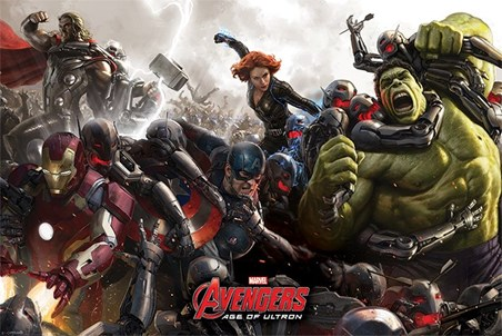 Age Of Ultron Battle - Avengers