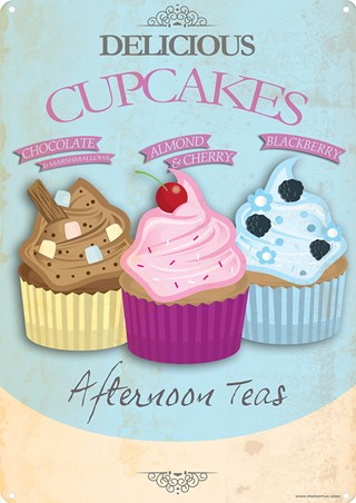 Delicious Cupcakes - Afternoon Tea