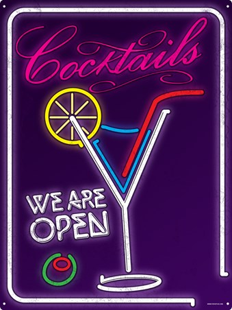 Neon Cocktails - Cocktail Hour