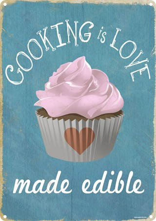 Cooking Is Love Made Edible - Get Baking