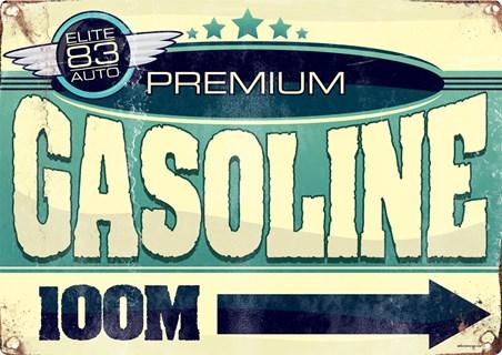 Framed Premium Gasoline 100m - Elite 83 Auto