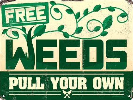 Free Weeds - Pull Your Own