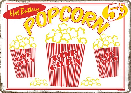 Taste Explosion - Hot Buttery Popcorn