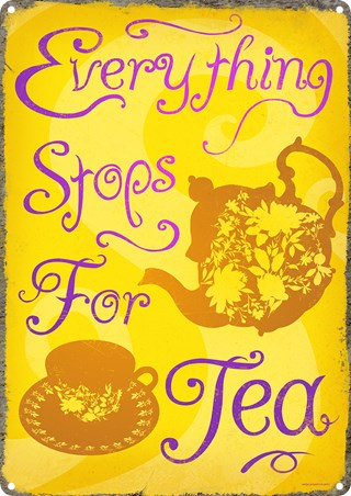 Everything Stops For Tea - English Tea