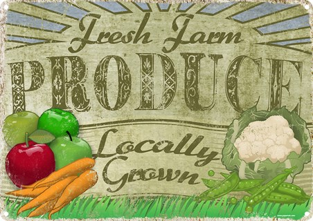Fresh Farm Produce - Locally Grown