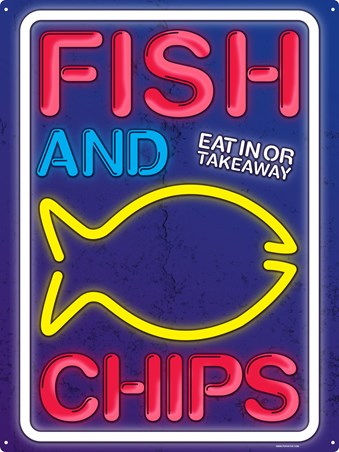 A Great British Tradition - Fish and Chips