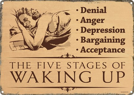 Wake Up Sleepyhead - The 5 Stages of Waking Up
