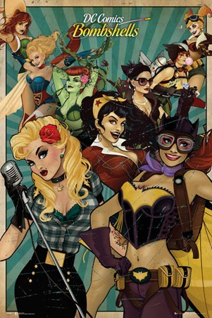Leading Ladies - DC Comics Bombshells