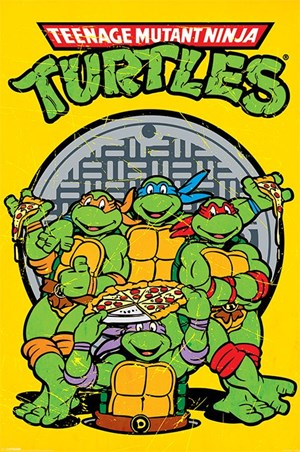Pizza Power - Teenage Mutant Ninja Turtles