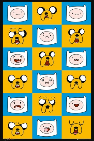 Finn & Jake Funny Faces - Adventure Time