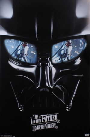 Framed Darth Vader - I Am Your Father - Star Wars