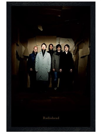 Black Wooden Framed Creeps - Radiohead Group Shot