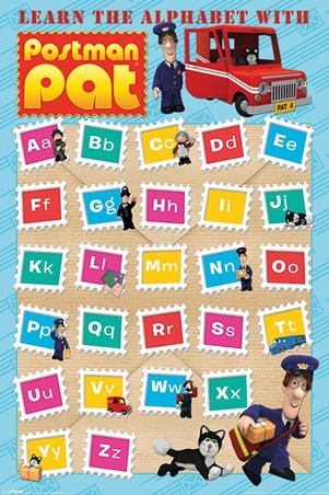 Learn The Alphabet - Postman Pat