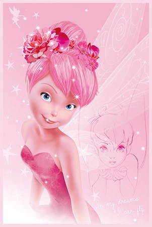 Tink In Pink Disney S Tinkerbell Poster Buy Online
