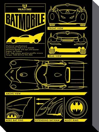 The Batmobile - Batman