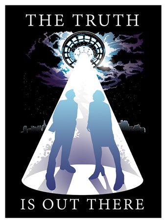 The Truth Is Out There Mini Poster -