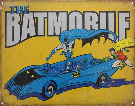 The Batmobile - Batman and Robin