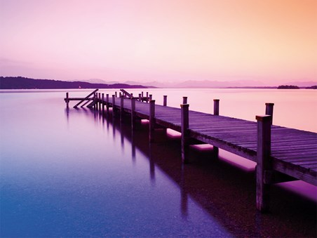 Jetty at Sunset - Summer's Evening