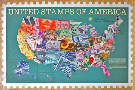 United Stamps Of America - The Smithsonian Institute