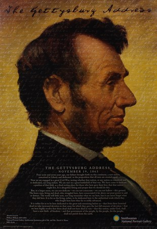 The Gettysburg Address - Abraham Lincoln